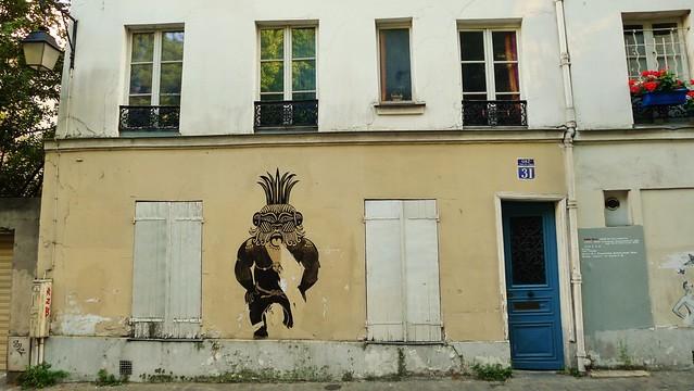 Wild man of Montmarte
