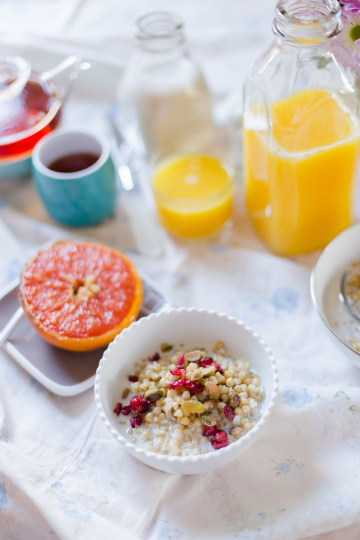 Wheat Berry Breakfast Porridge