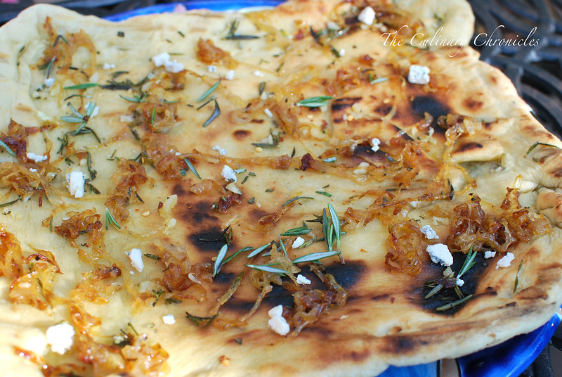 Grilled Flat Bread