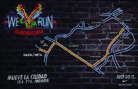 Ruta We Run Guadalajara 2013