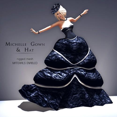 Pure Poison - Michelle Gown & Hat