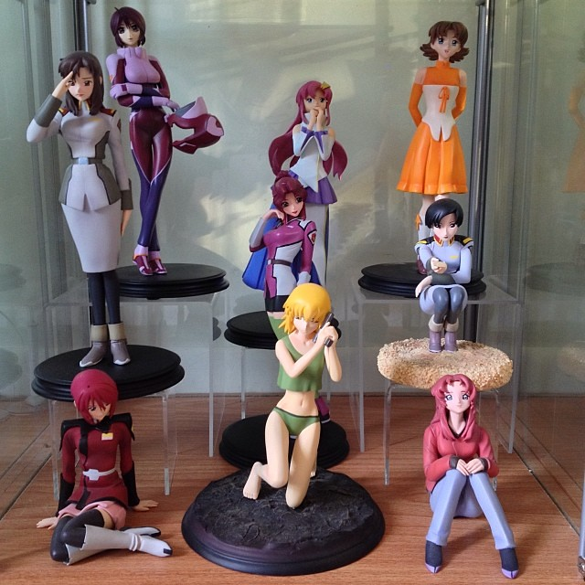 @otakusan167 @xsnrge the Gundam SEED B-club figure collection is complete