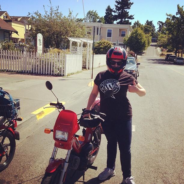 I'm ready! #mopeds #familyvacation