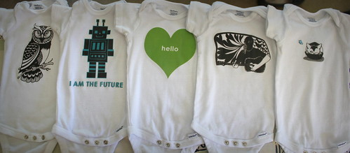 20130928. New onesies for the sprout.