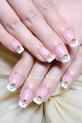 結婚款凝膠指甲