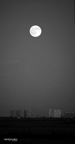 La lluna a la marjal by ADRIANGV2009
