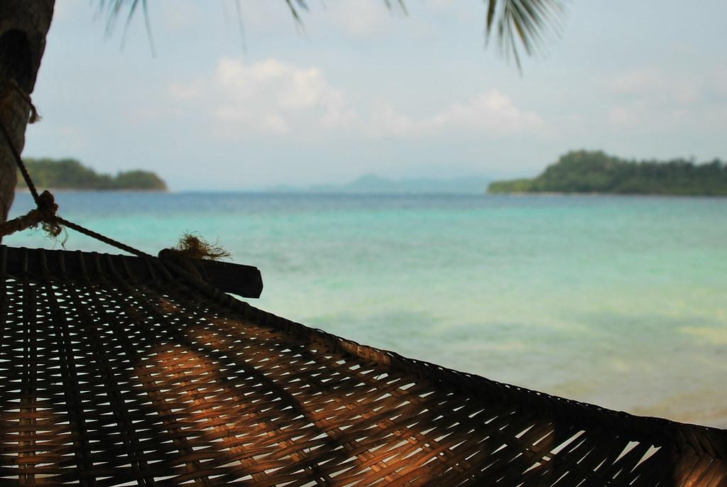 Port Barton, San Vicente, Palawan, German Island, Hammock, Summer, Camping