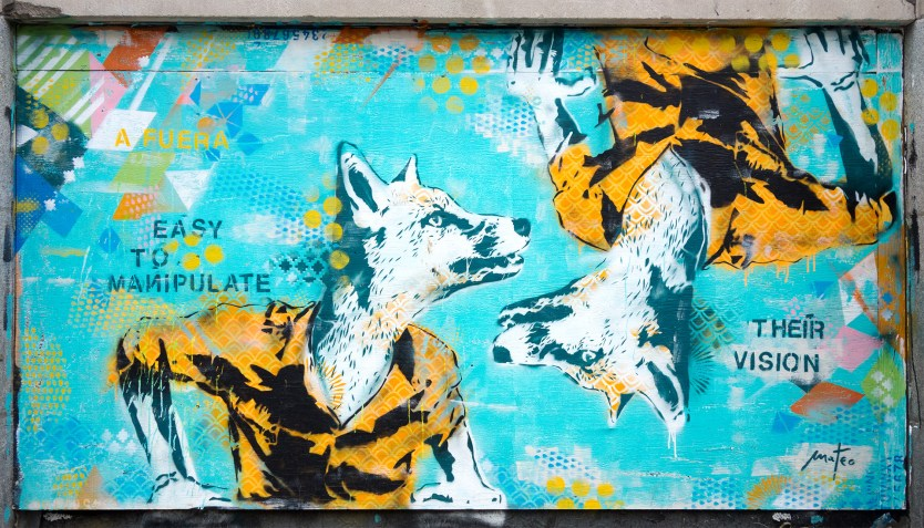 Manipulating Foxes - Mural