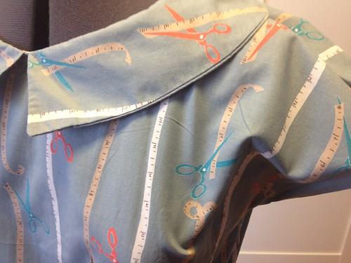 Scissors Simplicity 1577 collar