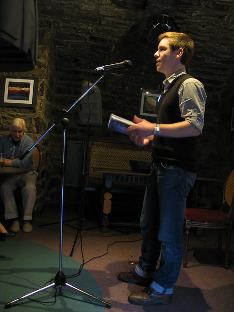 Samuel Tongue at Shore Poets June 2013