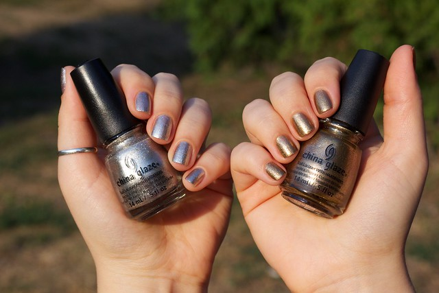 06 china glaze autumn nights collection gossip over gimlets goldie but goodie