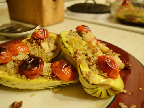stuffed squashes