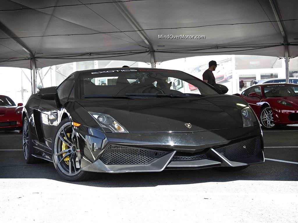 Lamborghini Gallardo LP570-4 Superleggera at Exotics Racing