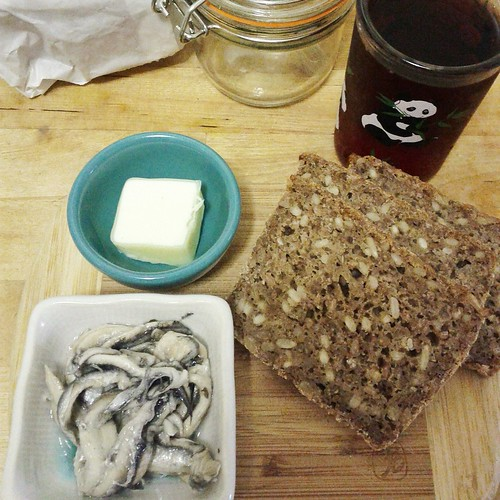 White anchovies & North Sea Rye bread