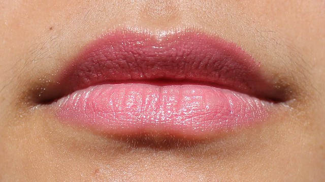 anna sui lipstick 301 swatch and review