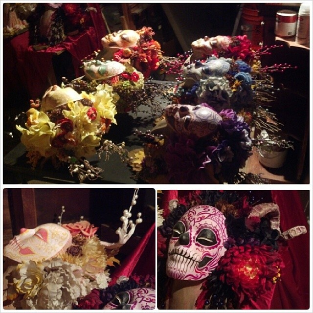 #muertita clan of the #harvest are back from their photoshoot with the talented Chris Rigg