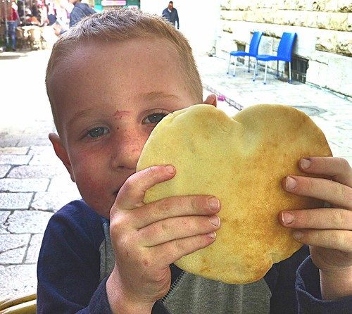 Who doesn't love a heart shaped pita? by nikki.j.thorpe