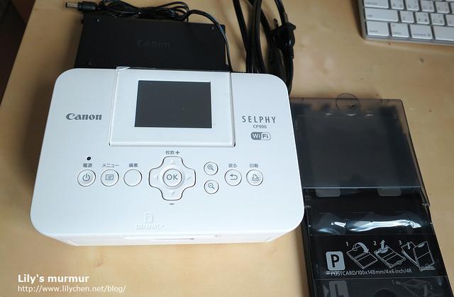 白色的Canon SELPY CP900,小小一台很好看!