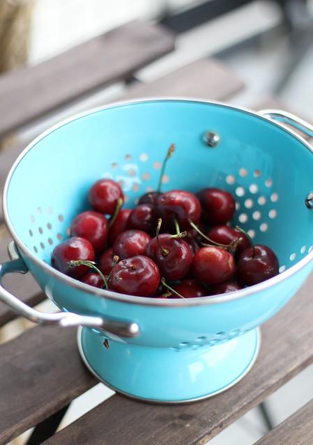 Fresh cherries!