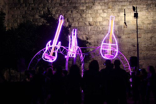 Jerusalem Festival of Light 2013
