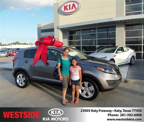 Westside KIA Houston Texas Customer Reviews and Testimonials - Laurel Lochan by Westside KIA