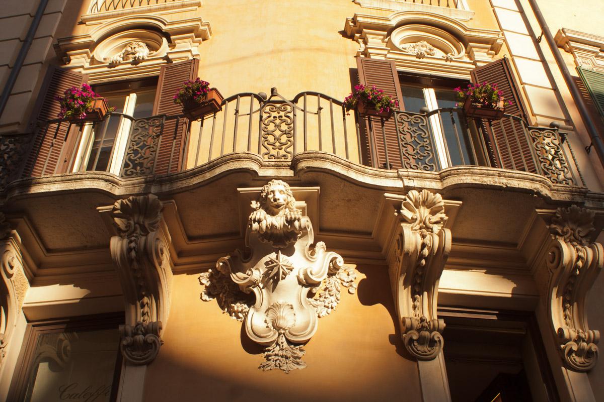 En las calles de Roma