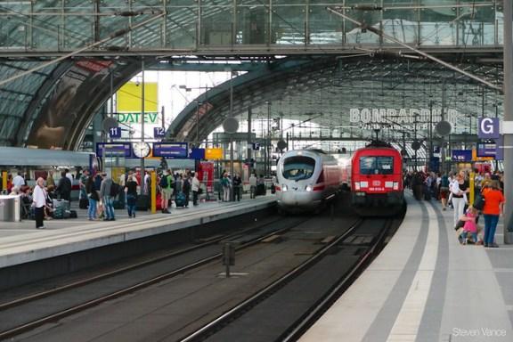 ICE diesel train arrives from Denmark