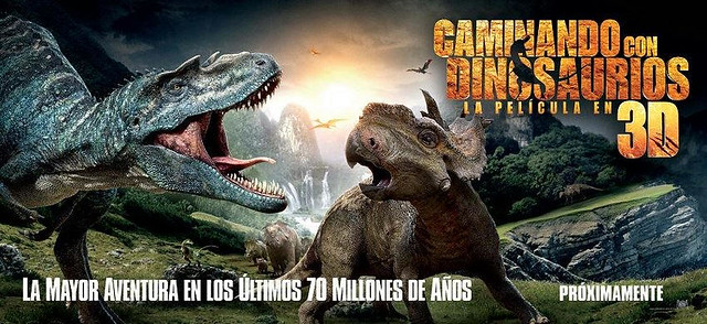 Caminando con dinosaurios 2013 - Titulo original Walking with Dinosaurs