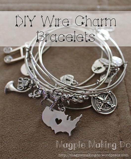 Wire Charm Bracelet header