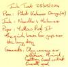 Ink Review Noodler's Habanero - Post It