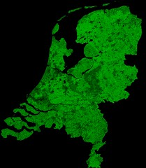The Netherlands by Proba-V