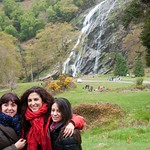 Irlanda, Condado de Wicklow, Powerscourt Waterfall 02