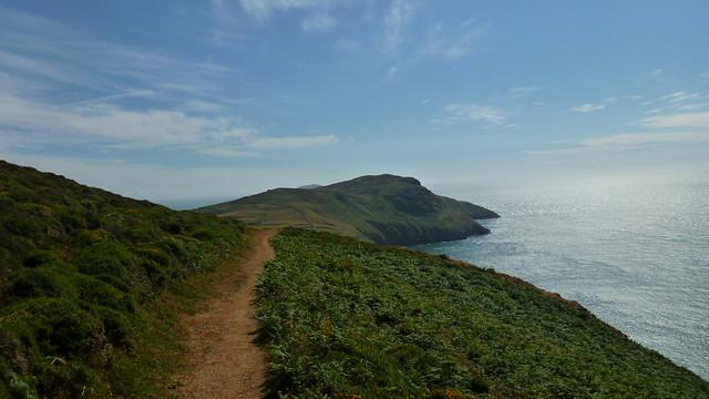 Lleyn Peninsula, Mynydd Mawr, Welsh Coastal Path