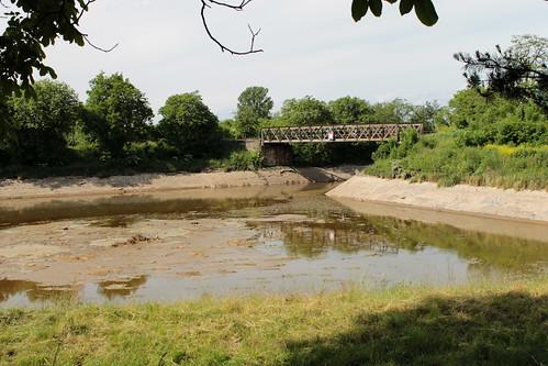 Vraňansko-hořínskí plavební kanál, post flood.