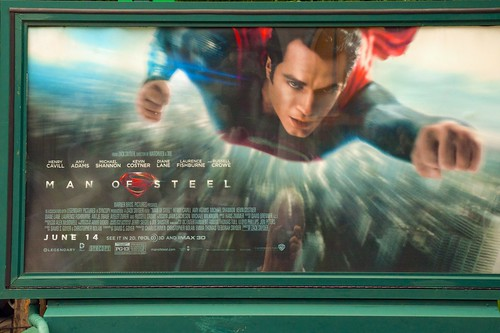 A sign of the times: the new Man of Steel