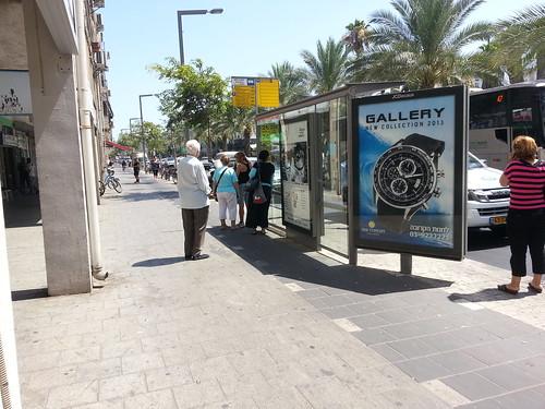 כל כשלי תחנות האוטובוס בתל-אביב בתמונה אחת