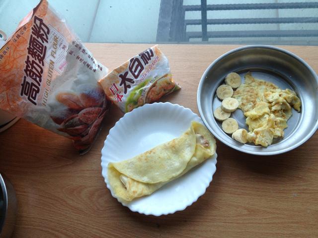 自己做蛋餅皮 簡單清淡的小幸福 - 小Jing的快樂生活