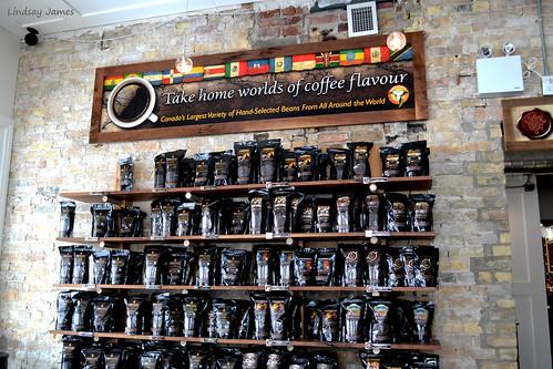 Fire Roasted Coffee Wall