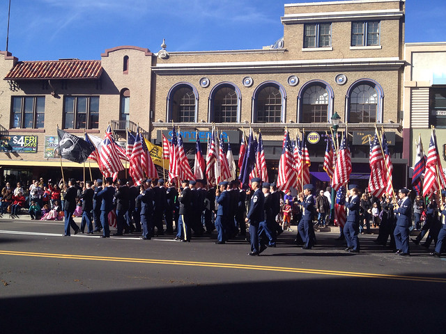 Airman March In Veteran's Day Parade