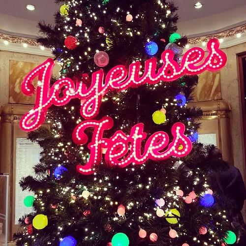 Happy holidays to all! #Paris #BonnesFetes #holidays #ChristmasInParis #christmas