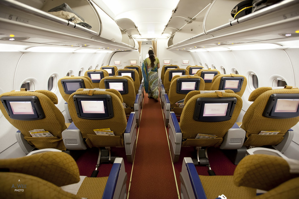 Business Class onboard the A321