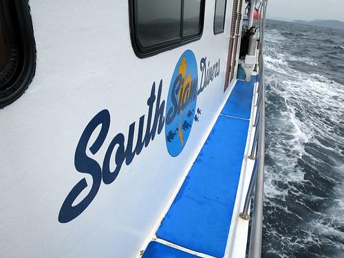 On board of Andaman Ocean Safaris boat