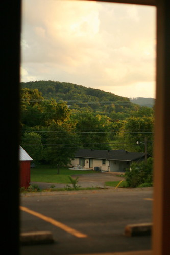 view from motel, Carthage TN