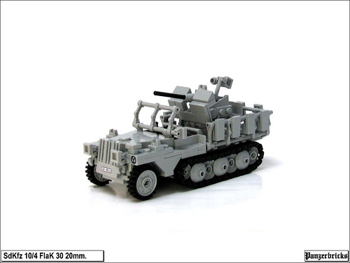 SdKfz 10/4 FlaK 30 20mm. de Panzerbricks