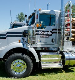 kovash logging kenworth t800 by truck exposure [ 1024 x 768 Pixel ]