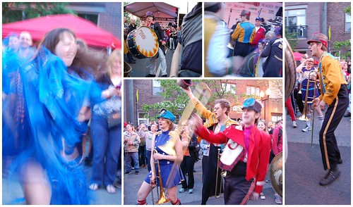 mucca pazza collage