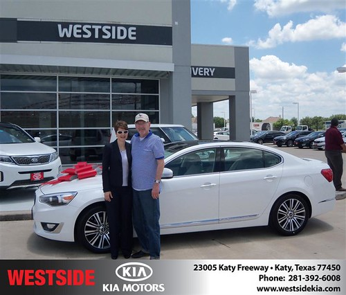 Westside KIA Houston Texas Customer Reviews and Testimonials - Bonita Dickson by Westside KIA