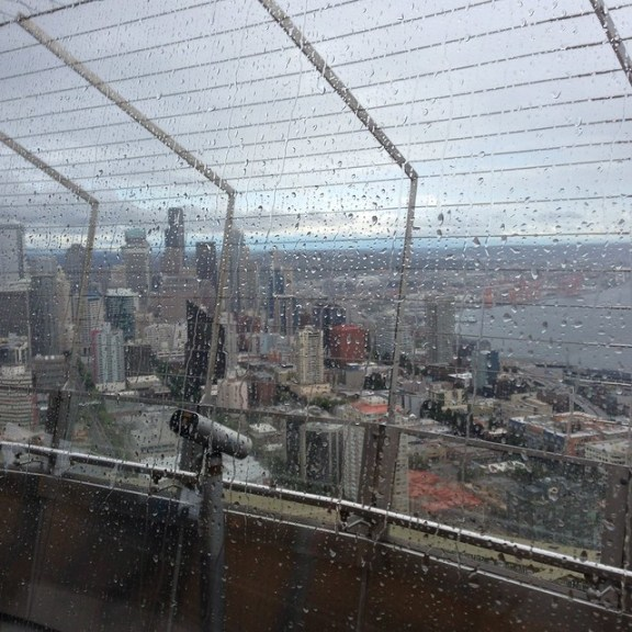 2013 Seattle Trip Report: View from the Space Needle