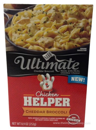 Chicken Helpter Ultimate Cheddar Broccoli