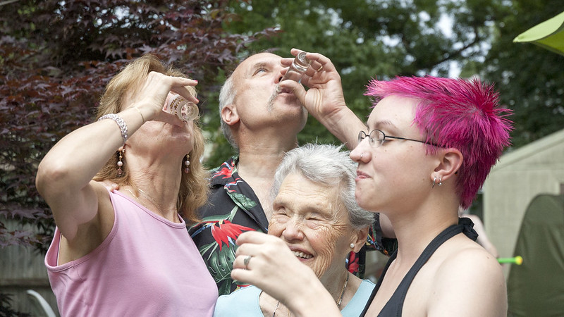 Shots for my grandfather